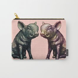 true love (pig love) Carry-All Pouch