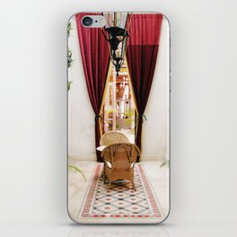 Colonial Style Tea Room in Merida, Mexico iPhone Skin
