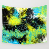 splash Wall Tapestries featuring Splash by Timothy Davis