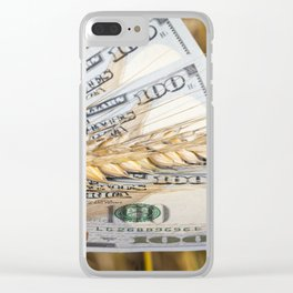 American dollars Clear iPhone Case