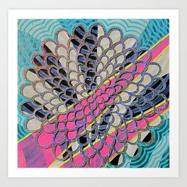LOBSTER CLAM Art Print
