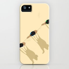 Camel caravan iPhone Case