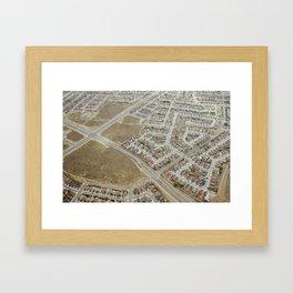 earth 2 Framed Art Print