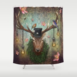 Ready For Spring Shower Curtain