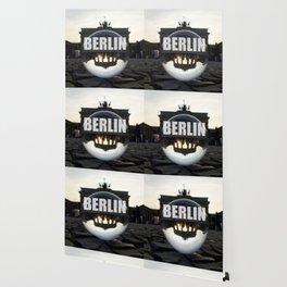 Brandenburg Gate sunset, Berlin Wallpaper