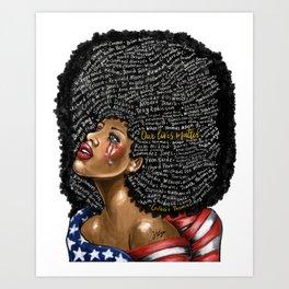 Our Lives Matter Art Print