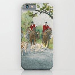 Fox Hunt 2 iPhone Case