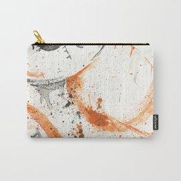 Orange - Splatter Artwork Carry-All Pouch