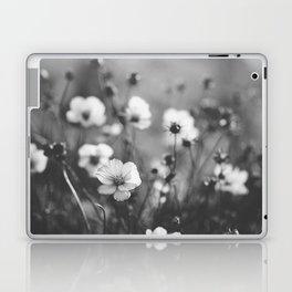 black and white cosmos Laptop & iPad Skin