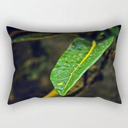 Leaf in the bush | 2010 Rectangular Pillow
