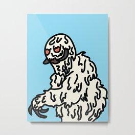 Snowbro Metal Print