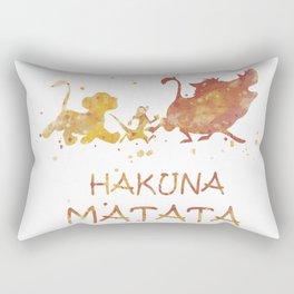 HAKUNA MATATA ! Rectangular Pillow