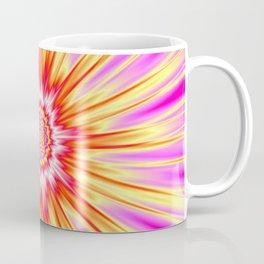 Pink Yellow and Red Super Nova Coffee Mug
