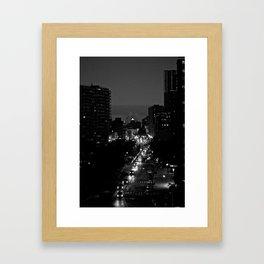 Night Eyes Framed Art Print