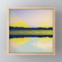 Flipped Framed Mini Art Print