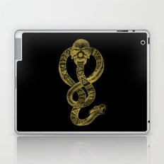 The Dark Mark in Gold Laptop & iPad Skin