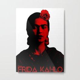 Frida Kahlo (Ver 8.2) Metal Print