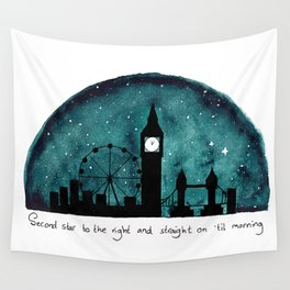 The Road to Neverland Wall Tapestry
