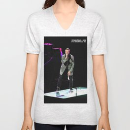 Macklemore & Ryan Lewis, Eugene, OR  Unisex V-Neck