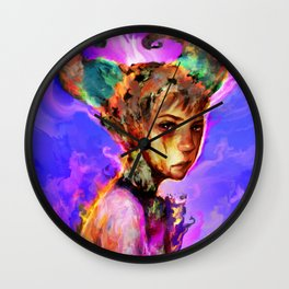 holiday mood Wall Clock