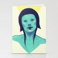 lemon Stationery Cards featuring lemon by Cagatay Pek