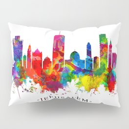 Jerusalem Israel Skyline Pillow Sham