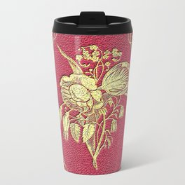 Wine and Roses Book Cover Travel Mug
