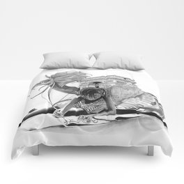 HOW IT BEGINS (featuring the photography of Harvey Lisse w/his daughter Chontelle) Comforters