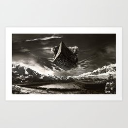 Hammer To Fall Art Print