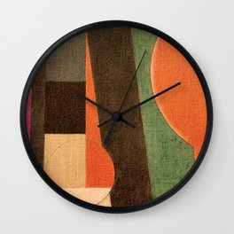 Soccer in the Sand Wall Clock