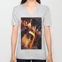 Bonfire Unisex V-Neck