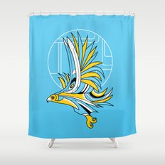 Hawk Deco Shower Curtain