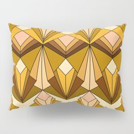 Art Deco meets the 70s Pillow Sham