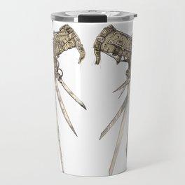 Scissorhands (Sepia) Travel Mug