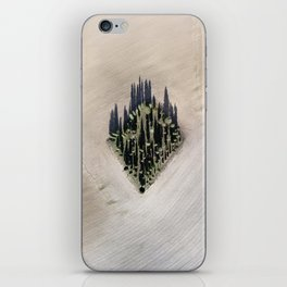 Cipressi toscani iPhone Skin