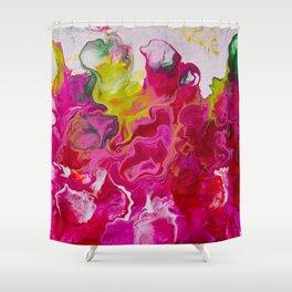 Inviting iris Shower Curtain