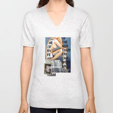 The North American Woman Unisex V-Neck