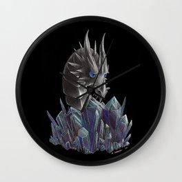 Ice Dragon Hoard Inspection Wall Clock