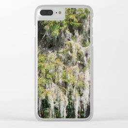 Mosses Clear iPhone Case