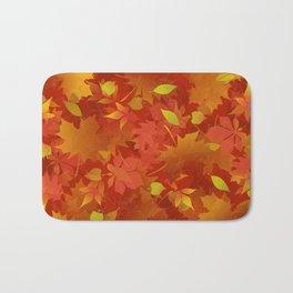 Autumn Leaves Carpet Bath Mat