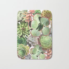 Succulents R Rad Bath Mat