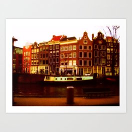 Amsterdam 2004 Art Print