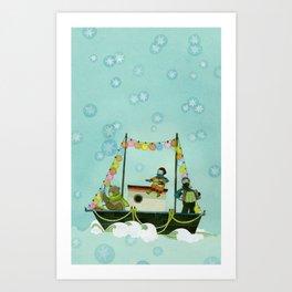Seaworthy Art Print