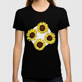 Sunflowers are the New Roses! - White T-shirt