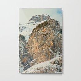 Swiss Mountain Kandersteg 1 Metal Print