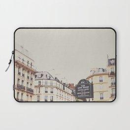Place Sartre Beauvoir Laptop Sleeve