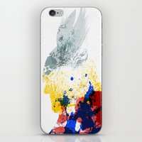 nordic iPhone & iPod Skins featuring Nordic Star by Arian Noveir