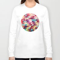 solid Long Sleeve T-shirts featuring Solid colors by Tony Vazquez