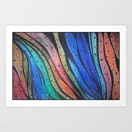 Wave Crossing Art Print