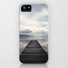 Lake McDonald Dock iPhone Case